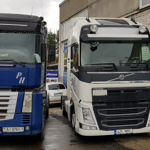 Renault, VOLVO FH4